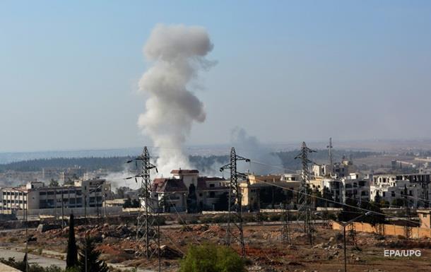 В Алеппо збили літак сирійських ВПС