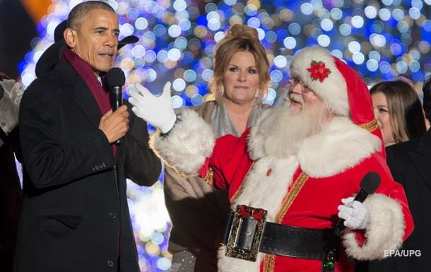 Обама заспівав різдвяну Jingle Bells