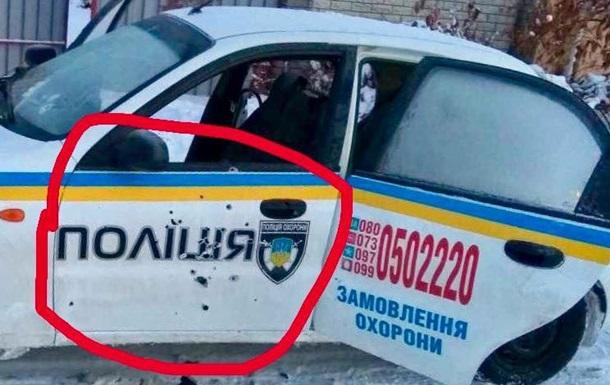 Княжичи: Стреляли в надпись  Полиция  - депутат