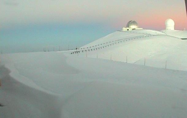На Гаваях випав майже метр снігу