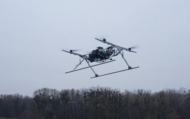 В Україні випробували вантажний безпілотник для армії