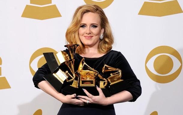 Адель и Бейонсе номинировали на три премии Grammy