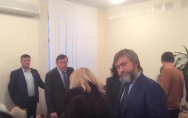 Луценко обматюкав адвоката Новинського