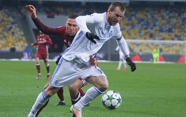 Шість м ячів Динамо і перемога Наполі в оглядах матчів групи