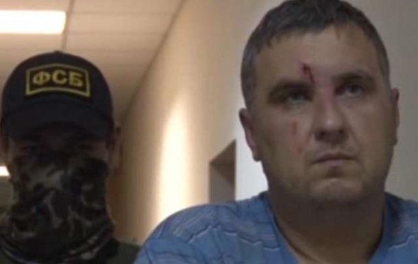 Кримський диверсант  заявив про тортури