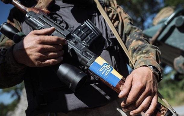 Український військовослужбовець - захисник!