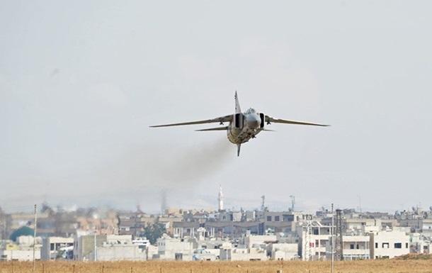 У Сирії розбився винищувач МіГ-23