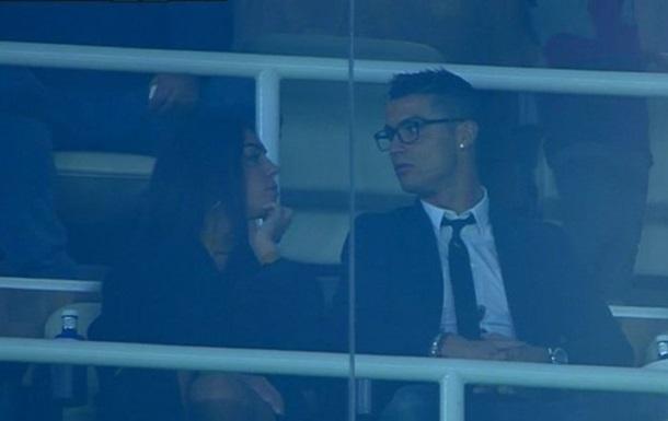 Роналду показав світу свою нову дівчину на матчі Реала