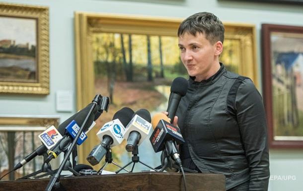 Савченко таємно зустрічалася з лідерами сепаратистів - ЗМІ
