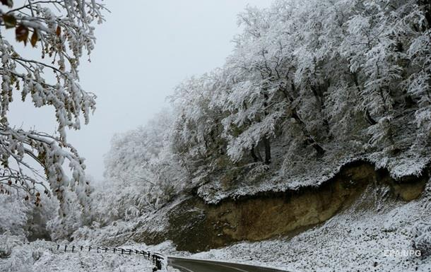 ДСНС попередила про сильний сніг у 4-х областях