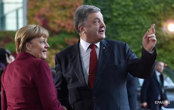 Порошенко обговорив з Меркель санкції проти Росії