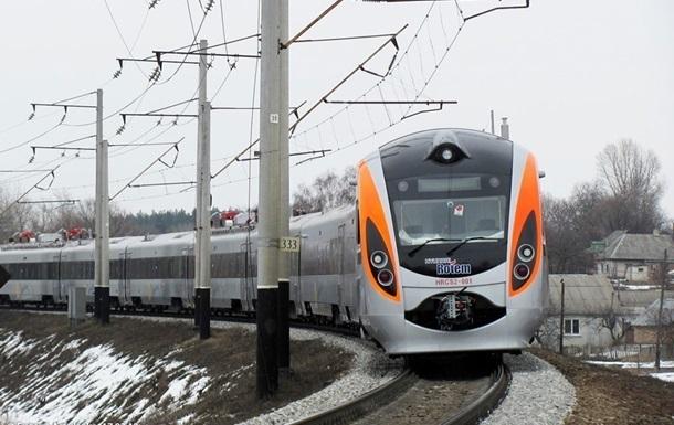 Поезд на Новый год