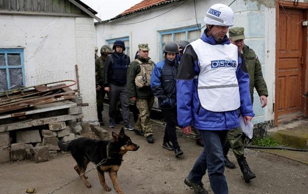 Місія ОБСЄ на Донбасі знайшла танк і гаубиці