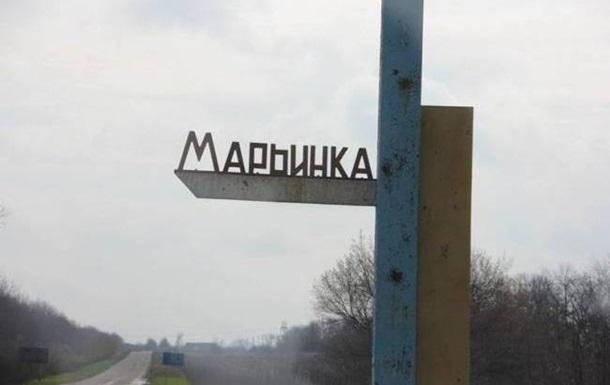 В центре Марьинки осколком снаряда ранен мужчина