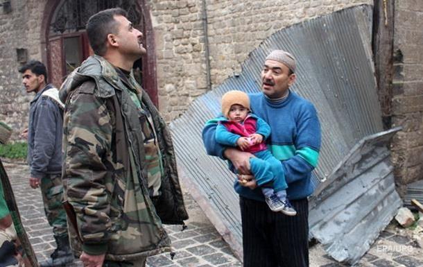 В Алеппо зірвана евакуація жителів