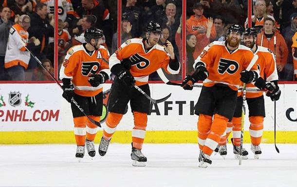 НХЛ. Успіхи Філадельфії і Піттсбурга, Калгарі поступається Тампі