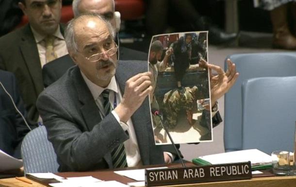 В ООН посол Сирії видав фото з Іраку за Алеппо