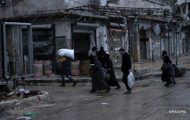 У Сирії обстріляли колону біженців з Алеппо, є жертви