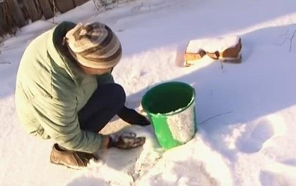 Реалии ОРДЛО: сегодня топят снег, завтра будут кушать землю?
