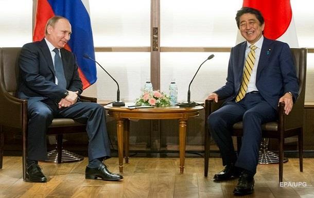 Путін і Абе обговорили спільну діяльність на Курилах