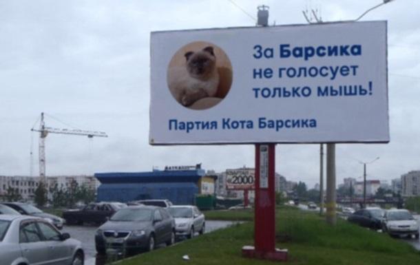 На посаду президента РФ балотуватиметься кіт