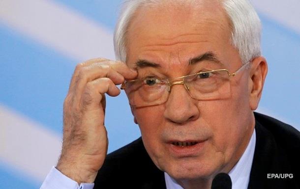 Азаров: Майдан курировали западные спецслужбы