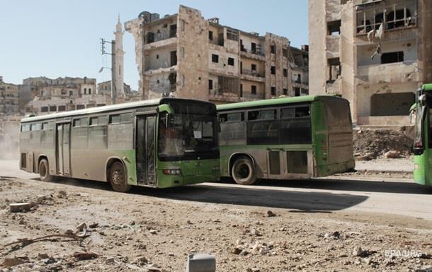 Завершено виведення бійців опозиції з Алеппо