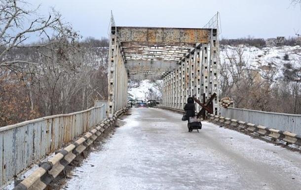 Мост в Станице Луганской снова обстреляли - ОБСЕ