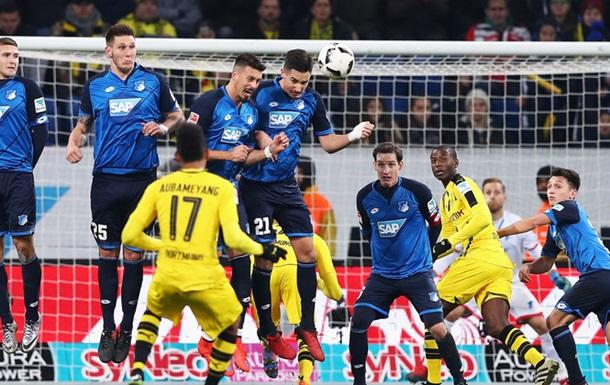 Бундесліга. Результативна нічия Хоффенхайма і Дортмунда