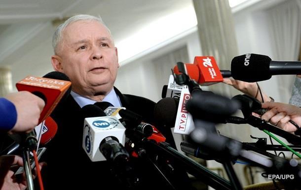 Поліція допомогла Качинському залишити Сейм