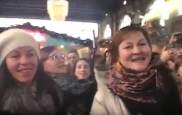 Флешмоб в Цюрихе
