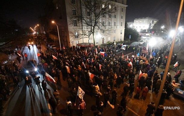 Глава МВС Польщі: Протести - спроба перевороту