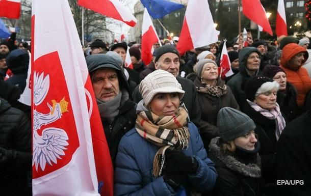Прем єр Польщі закликала опозицію до діалогу