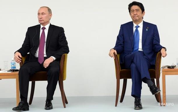 Японці незадоволені переговорами з Путіним про Курильські острови