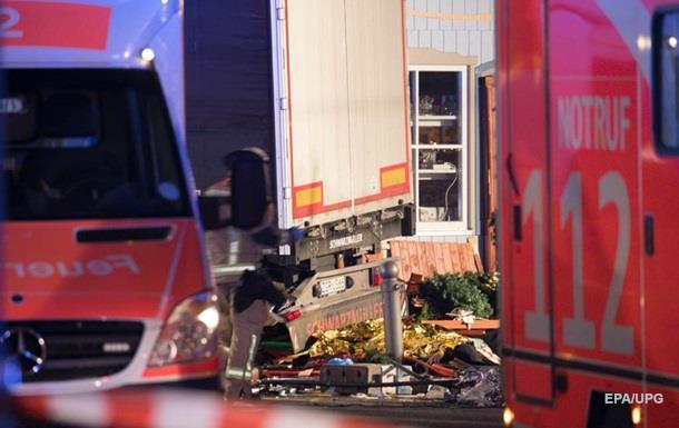 Затримали водія вантажівки, яка в їхала у натовп людей в Берліні