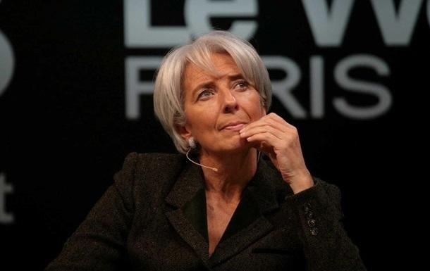 У МВФ заявили про підтримку главі фонду Лагард