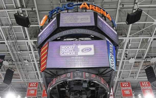 НХЛ. Поєдинок Кароліни проти Детройта перенесений