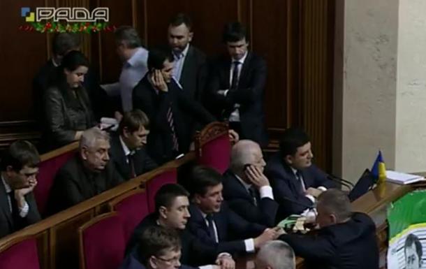 Рада перейшла до розгляду проекту держбюджету