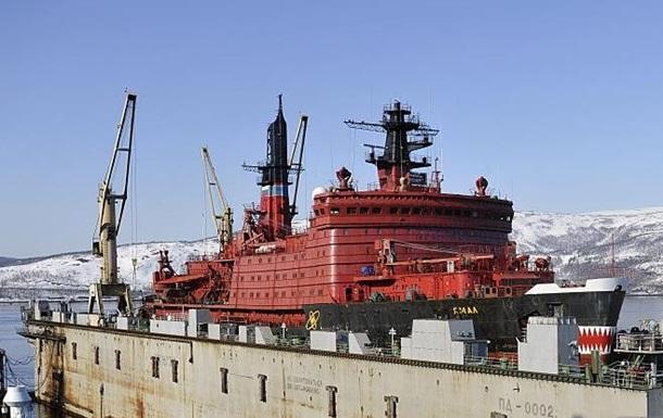 В России горел атомный ледокол Ямал