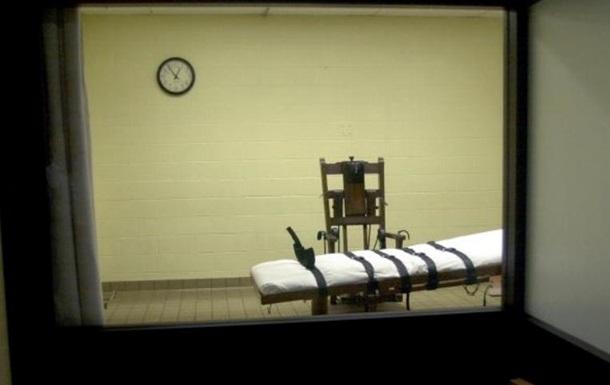 У США різко знизилося виконання смертних вироків