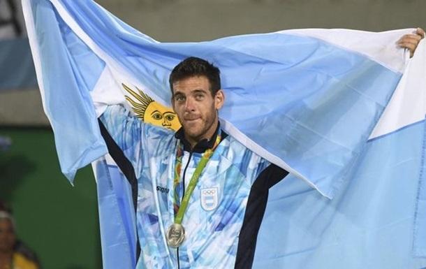 Дель Потро - найкращий спортсмен року в Аргентині