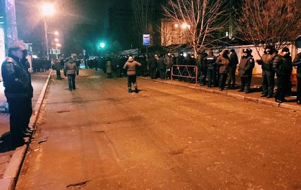 У Києві чергова нічна акція зі знесення МАФів