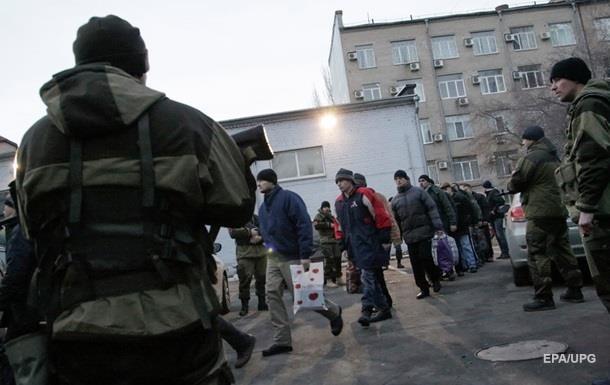 Украина передаст 15 человек ЛДНР