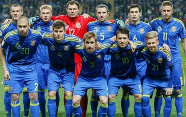 Рейтинг ФИФА: сборная Украины опустилась на одну позицию