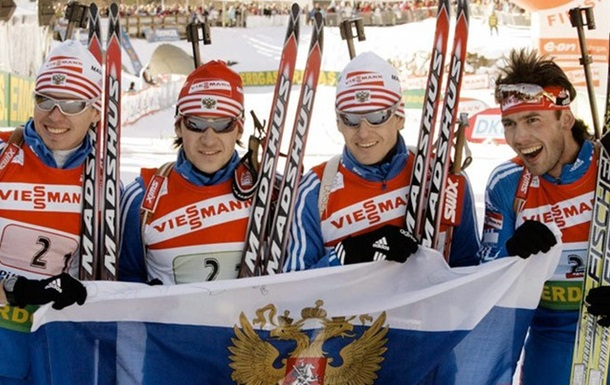 Два російських біатлоністи відсторонені від виступів