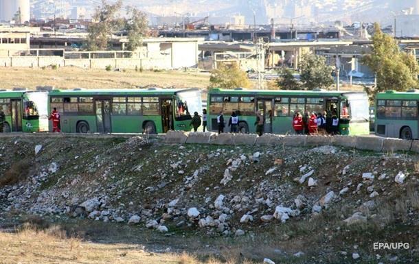 Евакуація з Алеппо завершена – Червоний Хрест