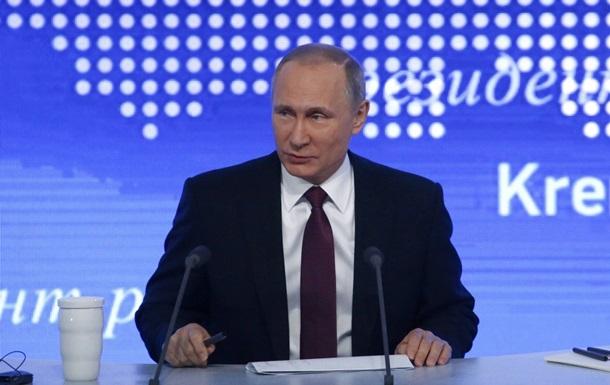 Путін назвав умову для амністії Сущенка та Сенцова