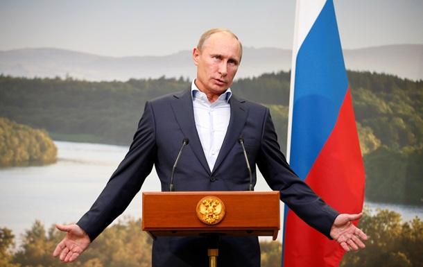 Путін: Росія не винна у війні на Донбасі