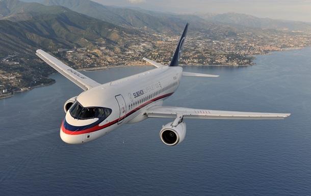У російських літаках Superjet знайшли дефект