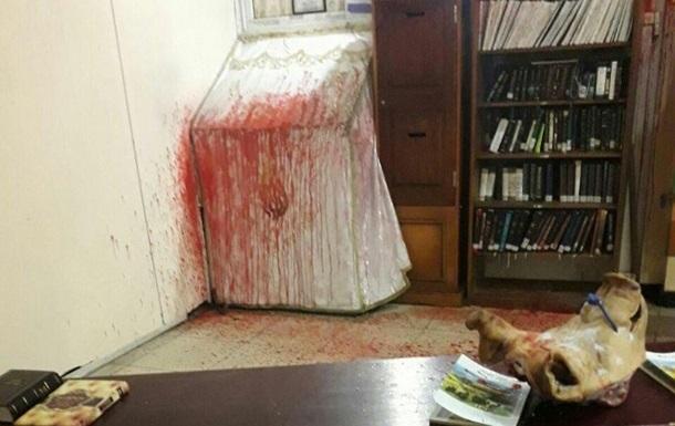 Погром у синагозі: складено фоторобот злочинця